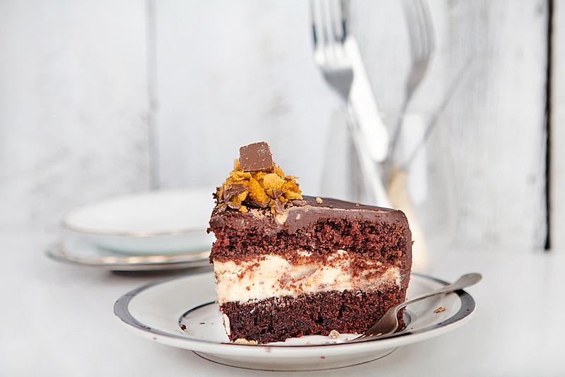 Print Crunchie Cake